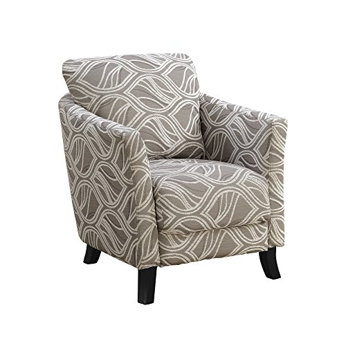 Monarch Specialties I 8182 Accent Chair, Taupe ()