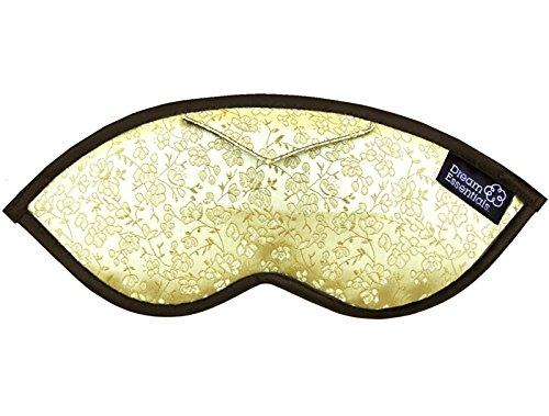 Dream Essentials Opulence Brocade Sleep Mask with Earplug Po