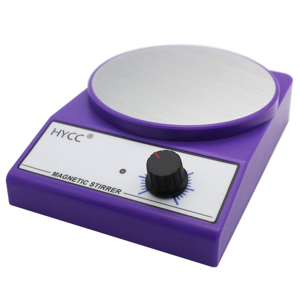 HYCC MX-3K Laboratory Magnetic Stirrer, 4.8'' Diameter Aluminium Panel, 3000 RPM, Max Stirring Capacity: 3000ml, Stirring Type by HYCC