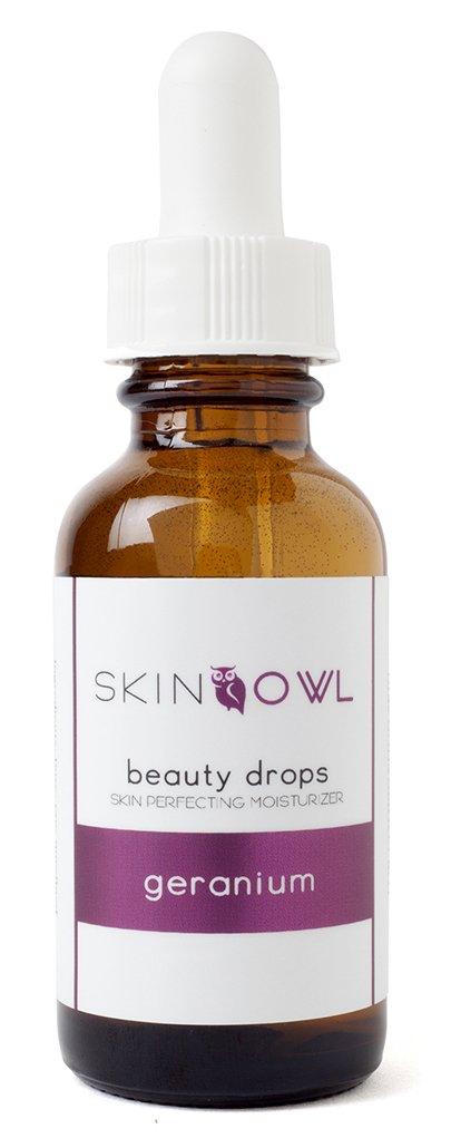 Skin Owl - Organic/Raw Geranium Beauty Drops (2 oz)