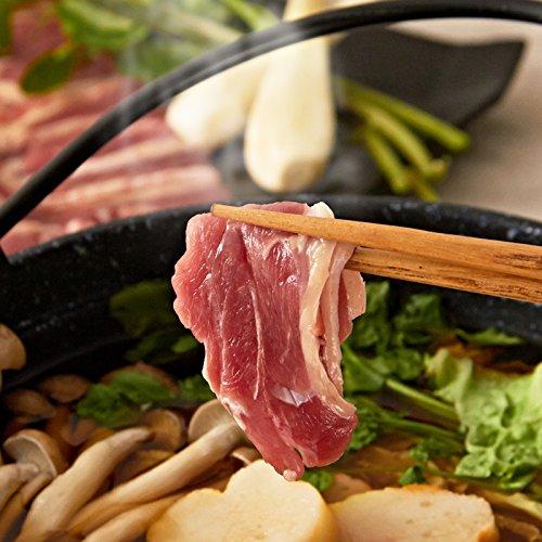 フランス鴨鍋セット(鴨もも肉スライス4パック、鴨スープ4袋)
