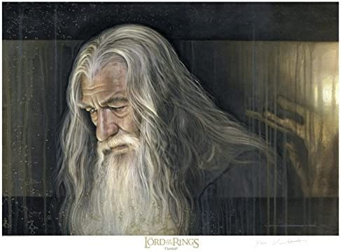 Gandalf Signed and Numbered Fine Art Print