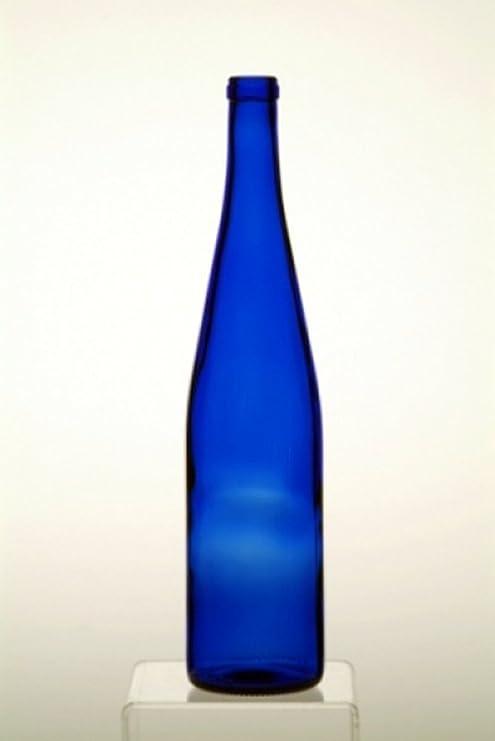 12 – 750 ml azul cobalto Hock Árbol de botellas para su botella de ...