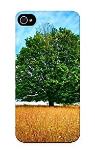 Forever Collectibles Oak Tree On The Field Hard Snap-on Iphone 5/5s Case With Design Made As Christmas's Gift
