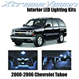 led package - XtremeVision Chevy Tahoe 2000-2006 (18 Pieces) Cool White Premium Interior LED Kit Package + Installation Tool
