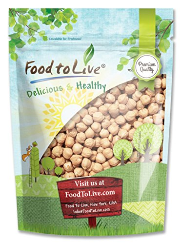 Food to Live Garbanzo Beans (Chickpea) (Kosher) (2.5 Pounds)