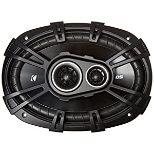 "2) New Kicker 43DSC69304 D-Series 6x9"" 360 Watt 3-Way Car Audio Coaxial Speakers"