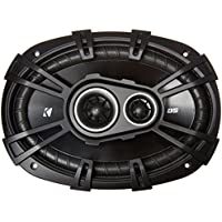 2) New Kicker 43DSC69304 D-Series 6x9' 360 Watt 3-Way Car Audio Coaxial Speakers