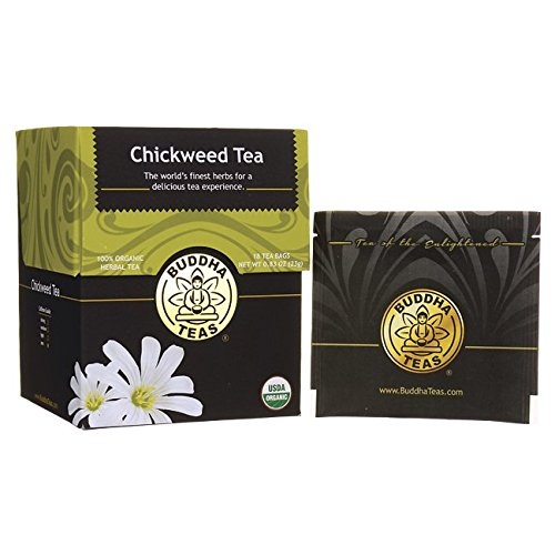 Organic Chickweed Tea Caffeine Free Bleach Free product image