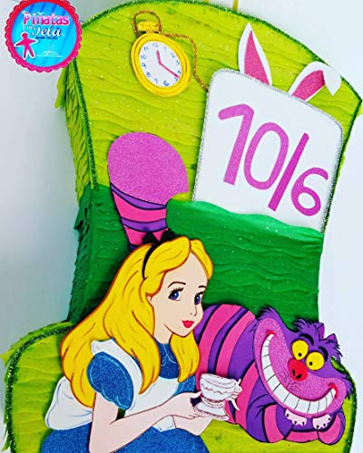 pinata alice in wonderland -