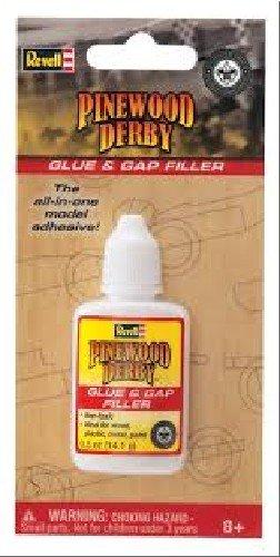 Pine Wood Derby Car Accessories (Revell Pinewood Derby Glue & Gap)