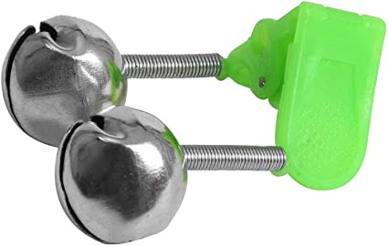 20Pcs Fishing Lure Bite Rod Bell Alarm Twin Bell Ring