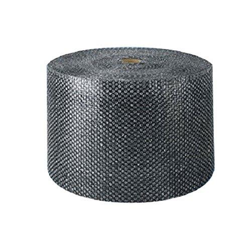 3/16'' supplyhut Black Small Bubble Cushioning Wrap Padding Roll Cushion 350' x 12'' Wide 350FT