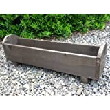 Wooden Planter box 80x18x18 with curved detail