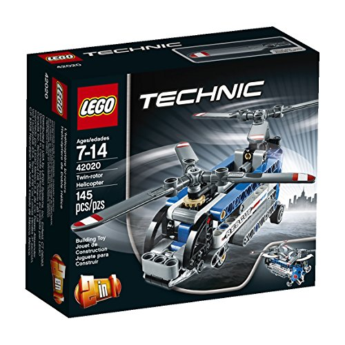 Lego Technic Twin-Rotor Helicopter