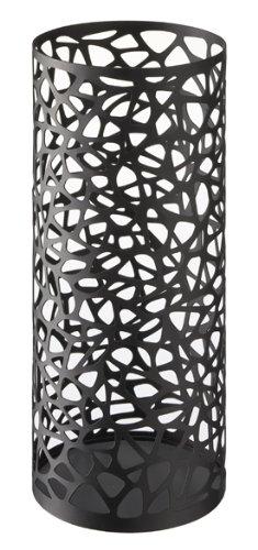 nest black metal round umbrella stand modern home decor - Amazon Home Decor