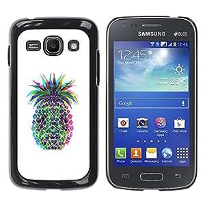 All Phone Most Case / Hard PC Metal piece Shell Slim Cover Protective Case Carcasa Funda Caso de protección para Samsung Galaxy Ace 3 GT-S7270 GT-S7275 GT-S7272 Colorful Art Drawing Food