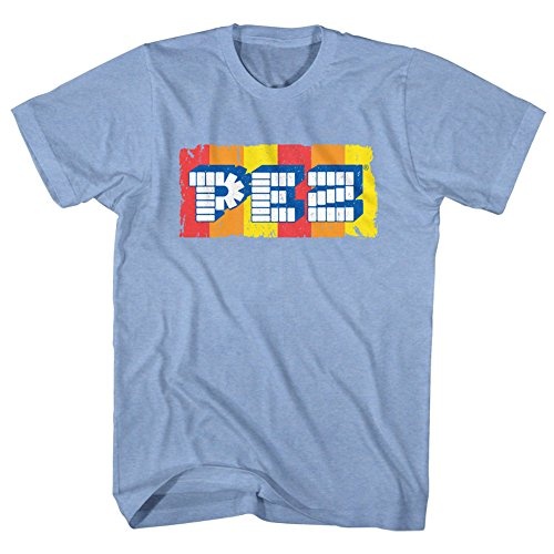American Classics Pez Logo Sugar Candy Dispenser Adult T-Shirt