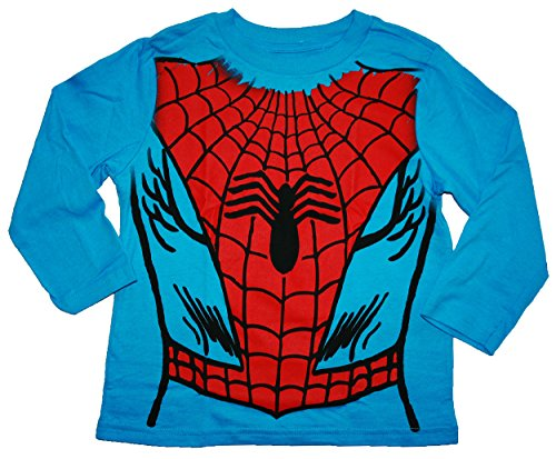 Marvel Comics Spider-Man Little Boys Long Sleeve Costume T Shirt
