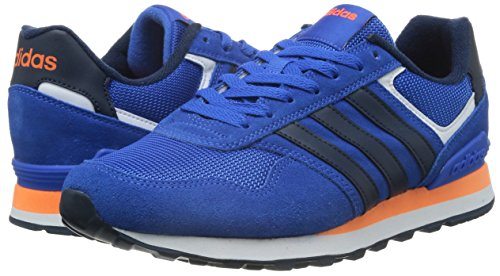 Adidas 10K - Zapatillas Deportivas Unisex Multicolor (Azul / Maruni / Narsol)