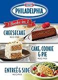 Kraft Philadelphia 3 Books in 1 Cookbook