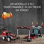 LEGO-Technic-Truck-e-Moto-dello-Stunt-Show-con-Azione-pull-Back-con-2-Modelli-da-Costruire-ed-Infinite-Possibilit-di-Gioco-per-Ragazzi-8-Anni-Appassionati-e-Collezionisti-42106