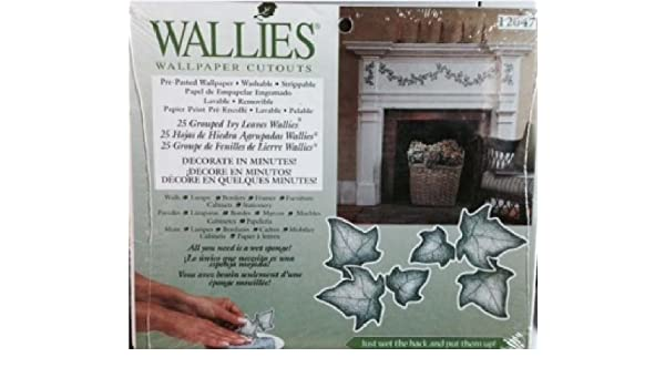 Wallies Wallpaper Cutouts Grouped Ivy Leaves