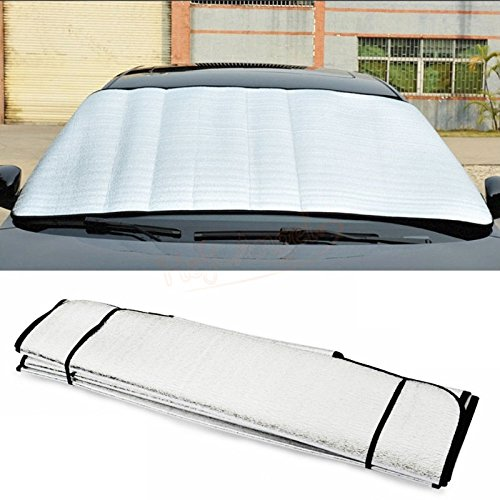 SaveStore 150 x 70cm Car Sunshade Sun Shade Front Rear Window Film Windshield Visor Cover UV Protect Reflector Car-Styling