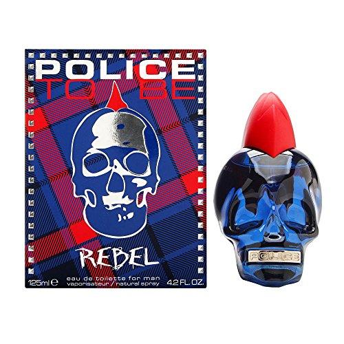 125 Ml Spray (Police To Be Rebel Eau de Toilette 4.2oz (125ml) Spray)