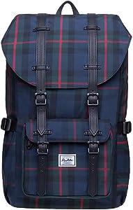 KAUKKO Mini Laptop Travel Backpack,Outdoor Rucksack Fits 13 Inch Laptop (16-Black) …