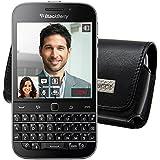 Original MTT Quertasche für / BlackBerry Classic / Horizontal Tasche Ledertasche Handytasche Etui mit Clip und Sicherheitsschlaufe*
