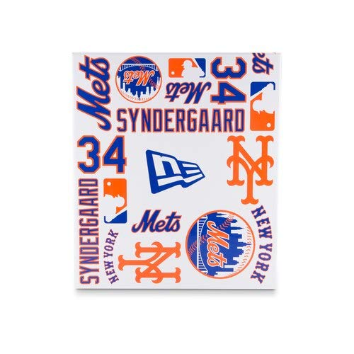 New Era NOAH Syndergaard New York Mets White Player Authentic Jersey V1 9FIFTY Snapback Adjustable HAT by New Era (Image #7)
