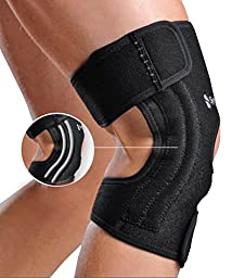 Synergy Therapeutic Braces and Supports Poliyou Knee Brace with Nylon Stabilizers, Large-X-Large