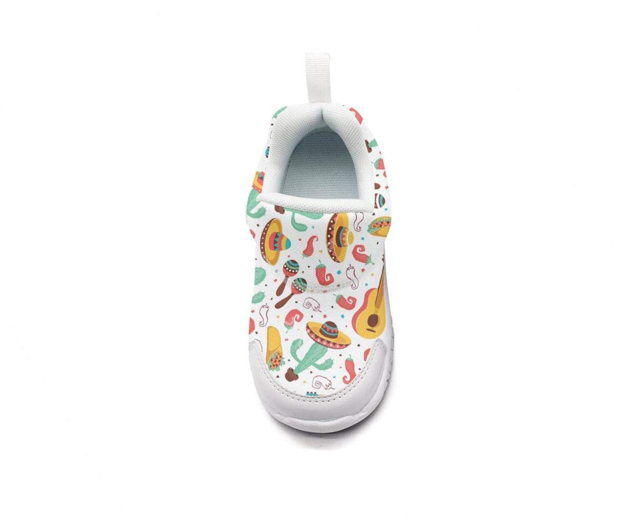 ONEYUAN Children Cinco de Mayo Miami and South Florida Kid Casual Lightweight Sport Shoes Sneakers Walking Athletic Shoes