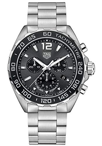 Tag Heuer Chronograph Wrist Watch - Tag Heuer Formula 1 Chronograph Anthracite Dial Mens Watch CAZ1011.BA0842