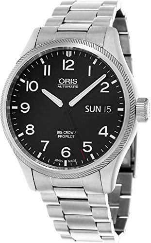 Oris Big Crown ProPilot Day Date Men's Stainless Steel Automatic Swiss Watch 01 752 7698 4164-07 8 22 19