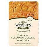 Wright's Garlic & Rosemary Focaccia Bread Mix (500g) - Pack of 6