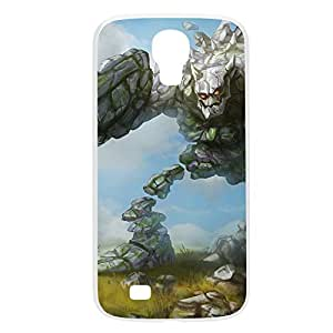 Malphite-004 League of Legends LoL For Case HTC One M8 Cover Plastic White