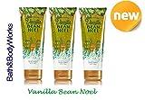 Vanilla Bean Noel Bath & Body Works Holiday Traditions 2014 LOT of 3 Ultra Shea Body Cream Gift Set Full Size