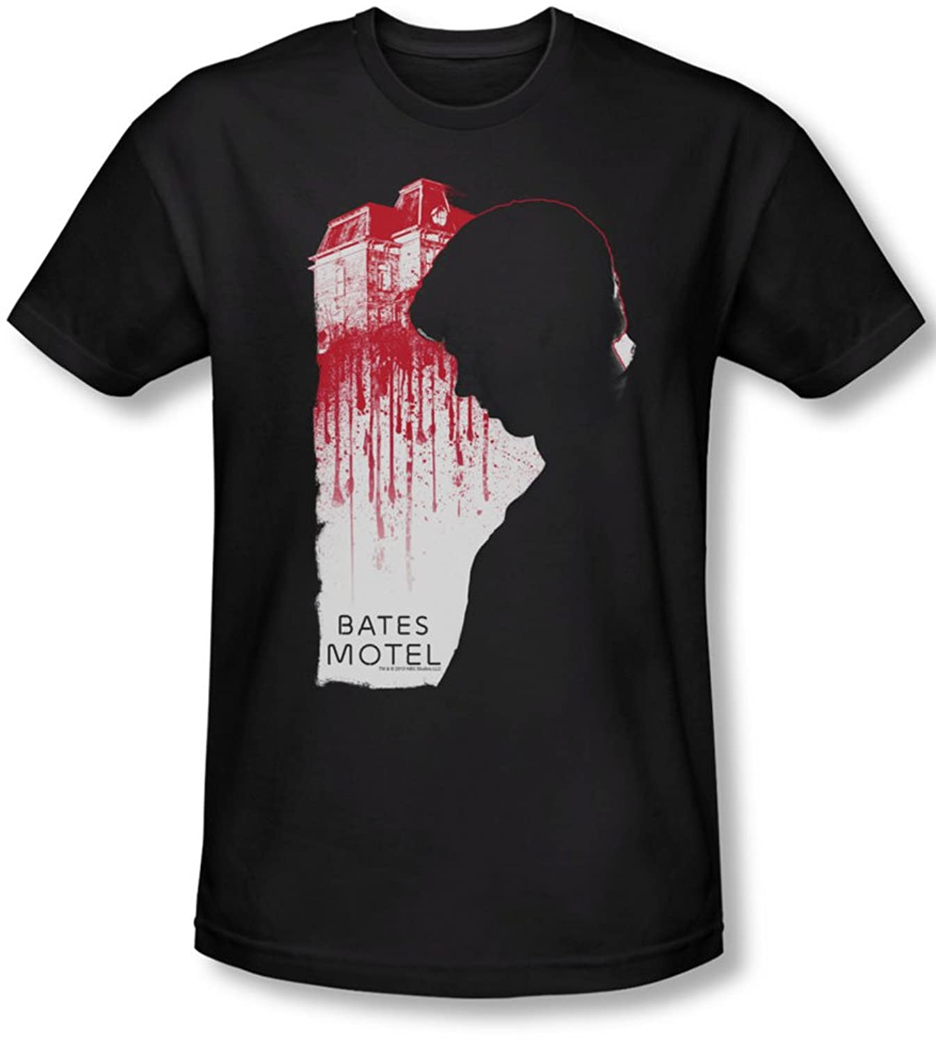 Bates Motel - Mens Criminal Profile Slim Fit T-Shirt