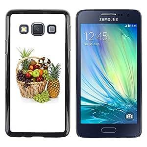 iKiki Tech / Estuche rígido - Fruit Macro Beautiful Fruits - Samsung Galaxy A3 SM-A300