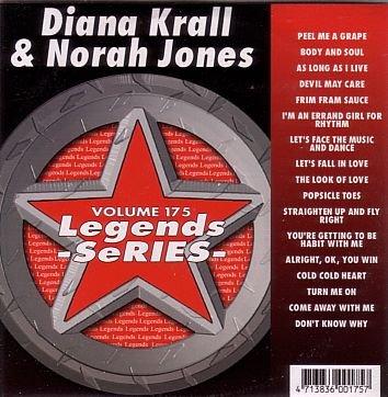 Legends Karaoke Volume 175 - Hits Of Diana Krall And Norah Jones (CD+G)