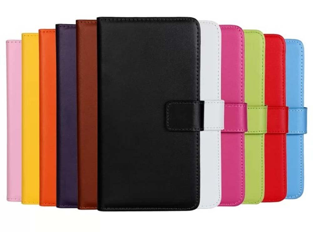 Outex® Luxury Genuine Leather Wallet Stand Folio Case with Card Slot for Apple iPhone 4/4S, iPhone 5/5S, iPhone 6/6 Plus, iPhone 5C High Quality