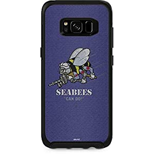 Skinit Seabees Can Do OtterBox Symmetry Galaxy S8 Plus Skin - Officially Licensed US Navy Skin for Popular Cases Decal - Ultra Thin, Lightweight Vinyl Decal Protection from Skinit