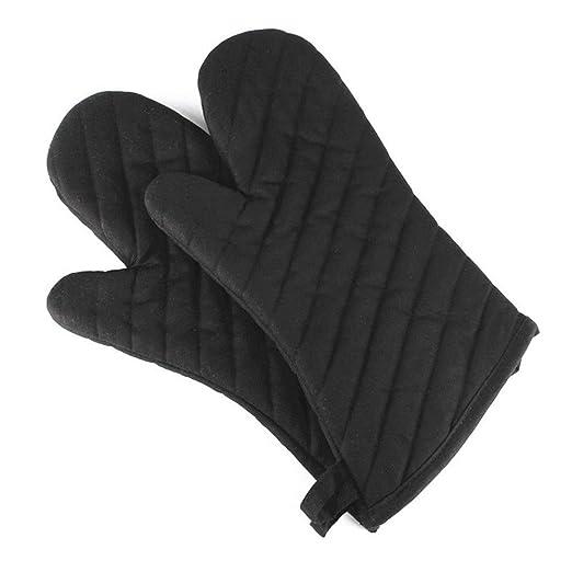 LNYJ Guantes Guantes 1 Pc Horno Horno guantes de algodón poliéster ...