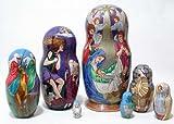 Nativity Matryoshka 7pc./8''