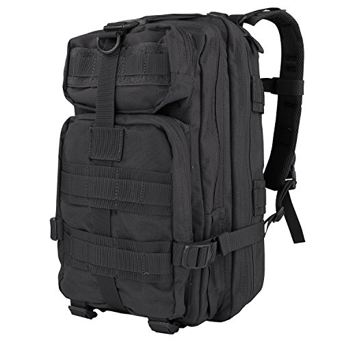 Condor Compact Assault Pack (Black, 1362-Cubic Inch) ()