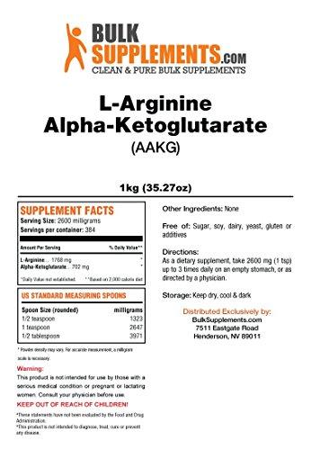 BulkSupplements Pure L-Arginine a-Ketoglutarate (AAKG) Powder (5 Kilograms) by BulkSupplements (Image #1)