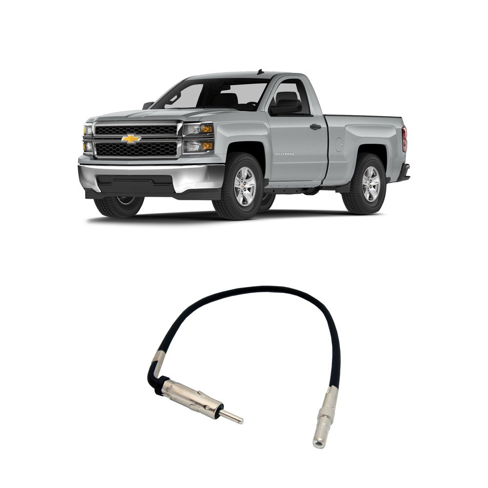 Best Rated In Car Audio Video Wiring Harnesses Helpful Customer 2003 Radio Chevy Diagram Silverado Kruchfeild Fits 2007 2014 Factory Stereo To Aftermarket Antenna Adapter Product Image