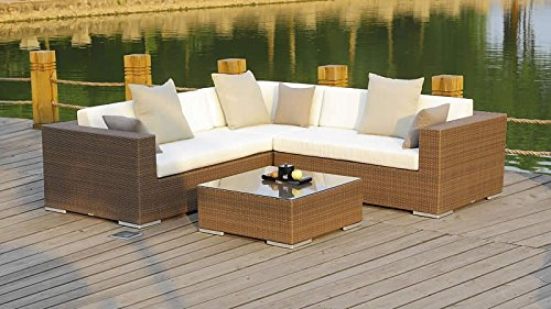 talfa Polyrattan Gartenmöbel Lounge Ben - java
